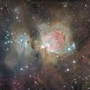 M42 Great Orion Nebula,                                Cheman
