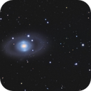 NGC 3945 Double Ring Lenticular Galaxy,                                sydney