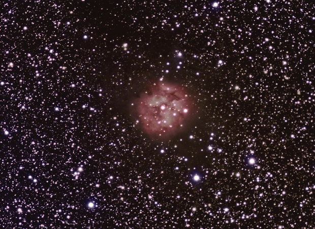 Cocoon Nebula,                                 degrbi
