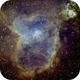 IC 1805 Heart Nebula in Narrowband,                                Manuel