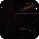 Supernova 2014J - M82,                                Travin
