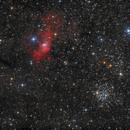 Blasen Nebel & M52,                                Jürgen Eggenberger