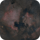 North America and Pelican Nebula NGC7000 / IC5070 2-Panel-Mosaic,                                Mario Gromke