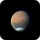 Clouds over Valles Marineris on May 1, 2020,                                Chappel Astro