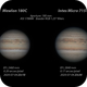 Jupiter 2020-07-04. Mewlon 180C and Intes Micro 715 De Luxe,                                Pedro Garcia