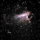 M17 - Omega Nebula,                                David Schlaudt