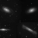 Spring's galaxies - NGC2903, NGC4826, NGC2683, NGC3628,                                Jean-Marie MESSINA