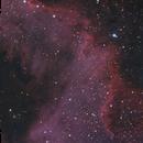 Cygnus Wall HaRGB,                                Anderson Thrasher