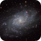 M 33: One Shot Color Enhanced with Ha,                                Alex Roberts