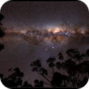 Milky Way core with Wheatbelt silhouettes,                                Roger Groom