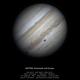 Jupiter, Ganymede and camouflaged Europa,                                Lucas Magalhães