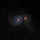M51 Whirlpool Galaxy,                                Phil Montgomery