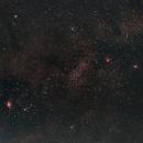 Sagittarius wide field taken during August 2006,                                Stefano Ciapetti