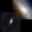 M31 (partial) + M110 Mosaic,                                Seymore Stars