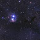Omicron Persei Cloud (Gingrich 1) B3/B4/B5/Ced20/Cr41/IC348/LBN758/VdB19 (c),                                Ram Samudrala