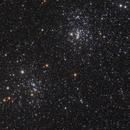Double Amas de Persée - NGC 869 et NGC 884,                                Le Mouellic Guillaume