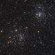 Double Amas de Persée - NGC 869 et NGC 884,                                Le Mouellic Guill...