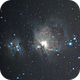 M42, 43 and NGC 1977,                                KHartnett