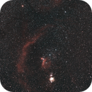 Barnard's loop in Orion,                                AstroBrome
