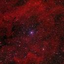 Sharpless2 119 H-alpha and RGB,                                jerryyyyy