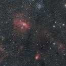 NGC 7635 - The Bubble Nebula and Neighbors,                                Hugues Obolonsky
