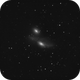 ngc4438 and ngc4435 of 25th of April - 364 60secs unguided subs,                                Stefano Ciapetti