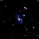 ngc1964  galassia nella   lepre                                                distanza  50 milioni  A.L.,                                Carlo Colombo
