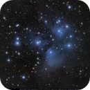 M45 The Pleiades with a small APO,                                Michael Feigenbaum