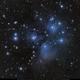 M45 The Pleiades with a small APO,                                Michael Feigenbaum