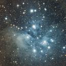 Project M45 V3.0 after 10.5 hrs DSLR Image,                                Kees Scherer