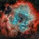 Rosetta Nebula,                                Dominique Gering