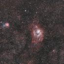 Les nébuleuses M8 (Lagune) et M20 (Trifide) au Tair 3c 300mm,                                Laurent3112