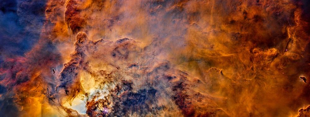 Plains and Summits in the Lagoon Nebula (HST),                                Alberto Pisabarro