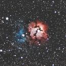 NGC 6514,                                Ron Krzyzewski