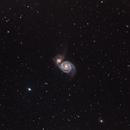 """Whirlpool Galaxy (M51) - RASA 11"""",                                Dan Gallo"""