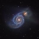 Whirlpool-Galaxy M51,                                Sebastian Voltmer
