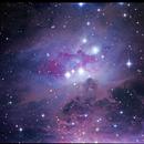 Running Man Nebula,                                Dan Wilson