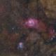 M8 & M20 Lagoon and Trifid Nebulas,                                Chuck Manges