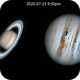 Saturn and Jupiter,                                Laurence Pap
