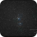 Double Cluster h Persei and χ Persei in the Constellation of Persei,                                Isa's Astrophotography Atelier