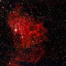 IC 405 Estrella llameante,                                Julián Simón