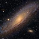 M31 (NGC224) Andromeda Galaxy,                                brad_burgess