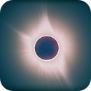 Moon at solar eclipse,                                Yuriy Oseyev