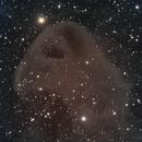 LBN777 - Baby Eagle Nebula,                                Dhaval Brahmbhatt