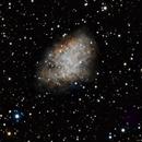 M1  Crab Nebula,                                Michael Deyerler