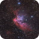NGC 7380 The Wizard Nebula,                                Chuck Manges