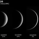 Venus Phases: February - May 2020,                                JDJ