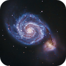 M51 - The Whirpool Galaxy (re-edit drizzle 2x),                                Gianni Cerrato