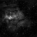 Bubble Nebula in Ha,                                Mike