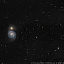 Whirlpool Galaxy,                                Francois Tasse